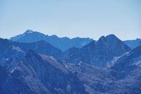 Le Mont Perdu et les 3000 du Cirque de Gavarnie depuis le Grand Barbat