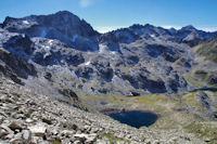 Le Lac et le Pic du Pic Arrouy
