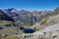 Le Lac Nère, en fond, le Balaïtous et le Palas