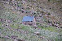 Une des cabanes du Barbat