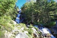 Cescades sur le ruisseau du Pic Arrouy