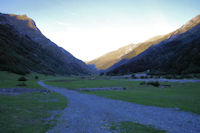 Le vallon du Gave du Labat de Bun depuis l'Ardoisiere