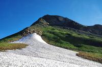 Neve au Col d'Uzious