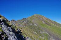 Le Pic de Louesque depuis le Col éponyme