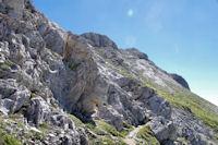 Au Col de Pène Blanque