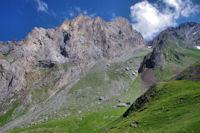 Le Petit Gabizos et le Col du Pourtet