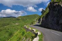La route vers le Col du Soulor
