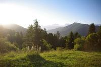 La vallee du Bergons depuis le Col de Spandelles