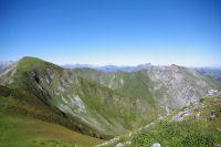 La crete entre le Soum de Granquet et le Pic de l'Estibete