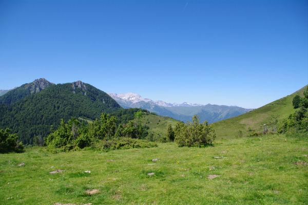 Le Col d_Ansan est vue