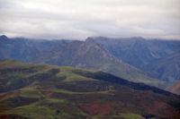 Le Pic du Midi d'Arrens, le Pic de Mousques et le Pic Saret depuis le Hautacam