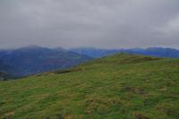 Le sommet de la crete de Bigaloume