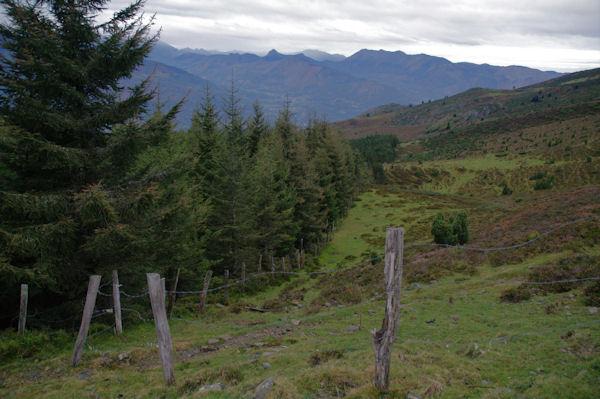 Les Arres, au dessus du vallon d_Estibos