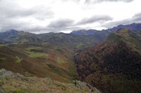 La Vallee d'Isaby depuis le Soum de Maucasau