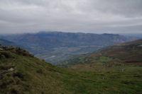La Vallee d'Argeles Gazost depuis le Soum de Maucasau