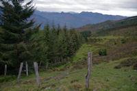Les Arres, au dessus du vallon d'Estibos