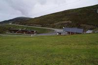 Les batiments de la station du Hautacam