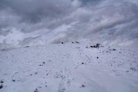 Le sommet de la crete de Penaube