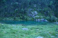 Le deversoir du lac de Suyen