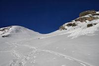 Quelques coulees sous le Col de Lary