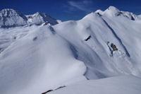 Le Col de Lary, plus loin, le Pic des Ligades