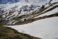 La descente terminale du vallon de Peyrenère