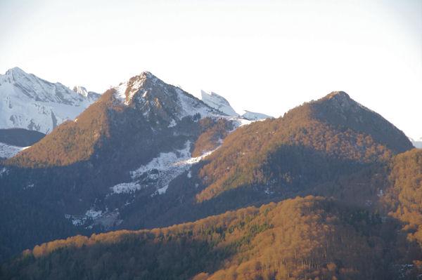Le Pic de Bazès et le Pic de Navaillo