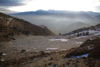 La vallee d'Argeles Gazost depuis le Col d'Andorre