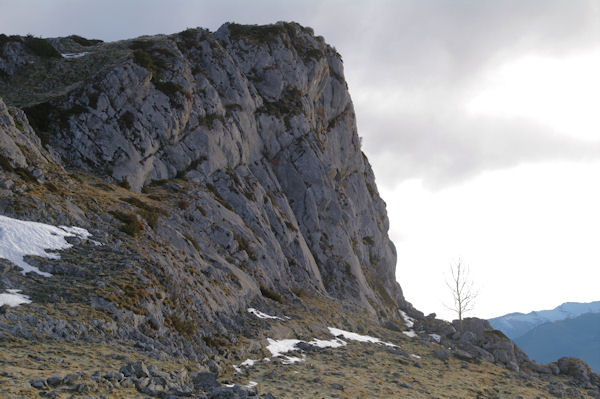 La face Sud du Soum de Leiz (Soum d_Alhès)
