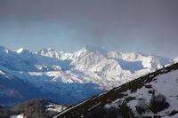Le Col d'Aubisque, au dessus le Caperan de Sesques