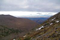La plaine de Pau depuis le Col d'Andorre