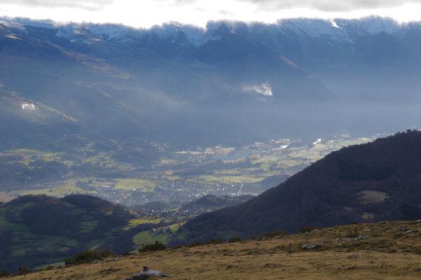 La vallée d_Argelès Gazost depuis le Col d_Andorre