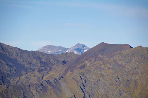 Le Soum Ramond et le Mont Perdu derrière le Pas de Balthazar