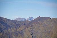 Le Soum Ramond et le Mont Perdu derriere le Pas de Balthazar