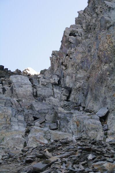 La cheminée du Pic de Lustou