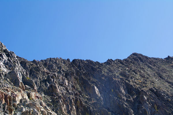 La crête de Lustou jusqu_au sommet du Pic de Lustou