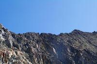 La crete de Lustou jusqu'au sommet du Pic de Lustou