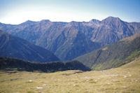 Panorama du Pic de'Arriouere au Pic d'Aret