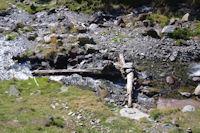 Le gue sur le ruisseau de la Piarre