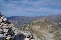 Le Lac dets Coubous depuis le Pic de Madamete