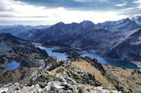Le Gourguet de Madamete, le Lac d'Aumar et le Lac d'Aubert
