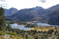 Le Lac d'Aumar et le Lac d'Aubert