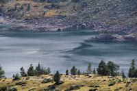 Ventole sur le Lac d'Aubert