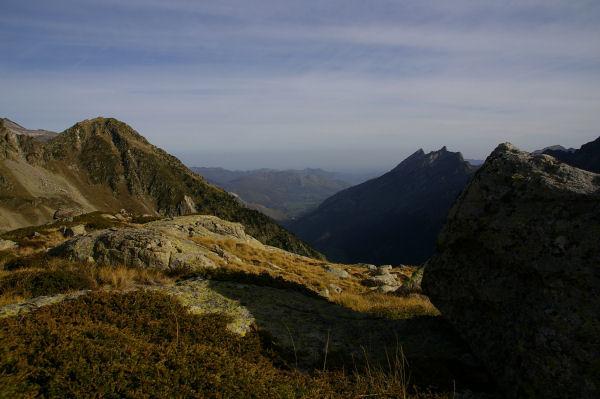 Vue du Val d&#39Azun depuis Lassiédouat