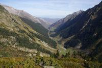 La vallee du gave d&#39Arrens et le lac du Tech