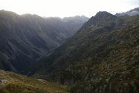 La vallee du gave d&#39Arrens, le lac de Suyen et la montee a la Peyre St Martin