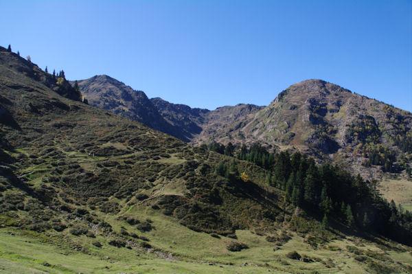 Le Sommet du Tech, le Sommet du Jambet, le Montious et la Montagne de l_Erm