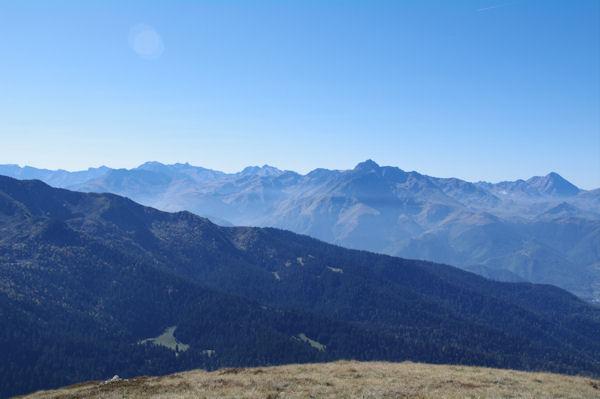 Depuis le Mont Né, Campbieil, Pic Long, Néouvielle, Arbizon et Pic du Midi de Bigorre