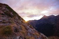 Lever de soleil près du Pic du Midi de Bigorre
