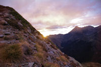 Lever de soleil pres du Pic du Midi de Bigorre
